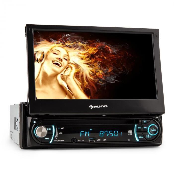 Auna MVD-330 Moniceiver Bluetooth USB SD MP3 AUX 18cm (7