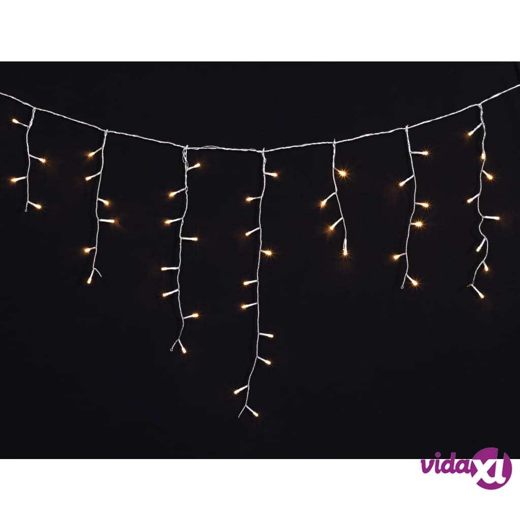 vidaXL Jääpuikkovalo Joulukoriste 3.9 m