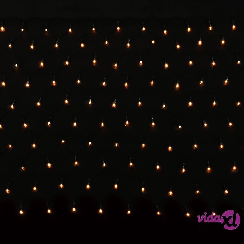vidaXL 200 LEDin Valoverkko 3.2 M x 1.5 M LED Jouluvalo