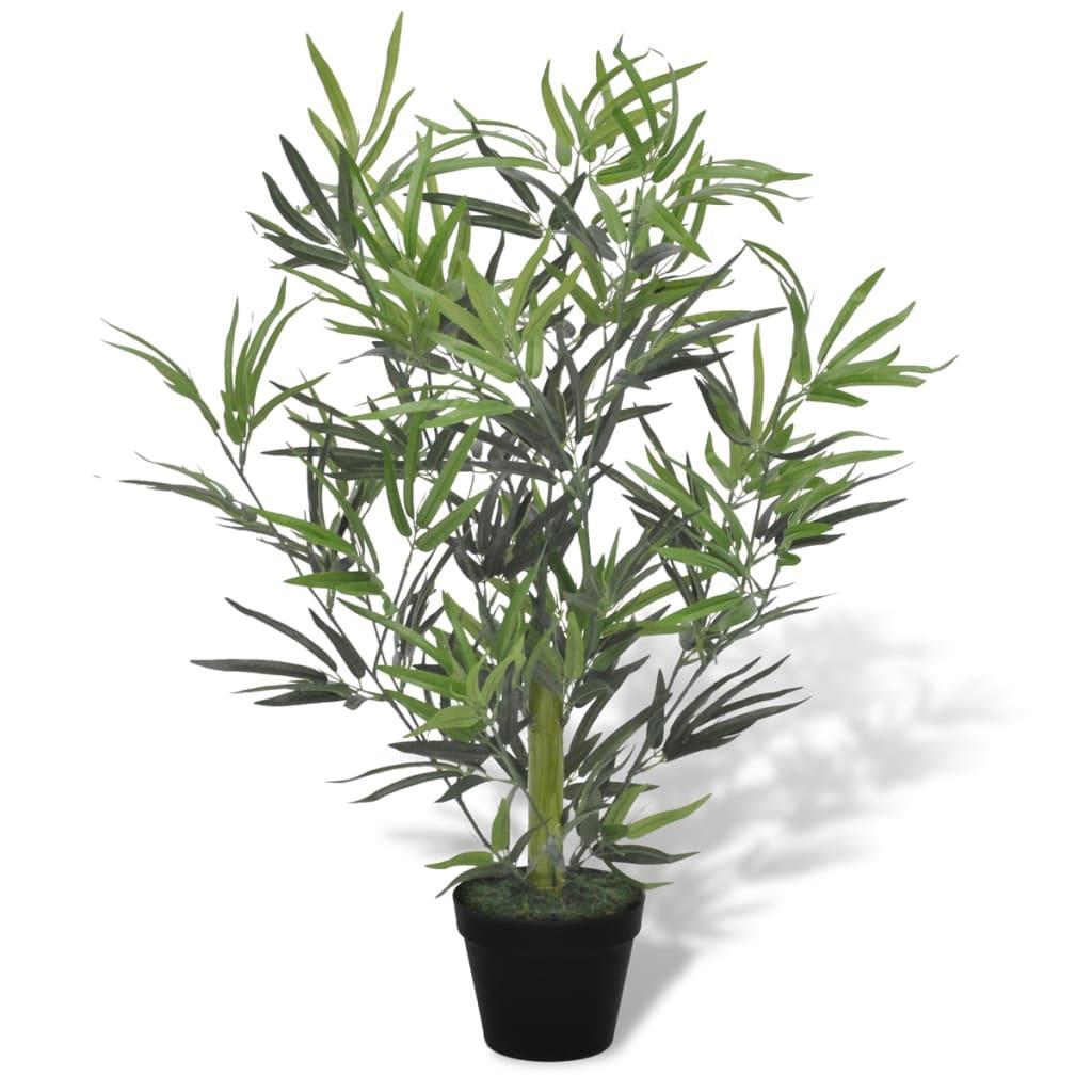 vidaXL Tekokasvi Bambupuu Ruukussa 80 cm