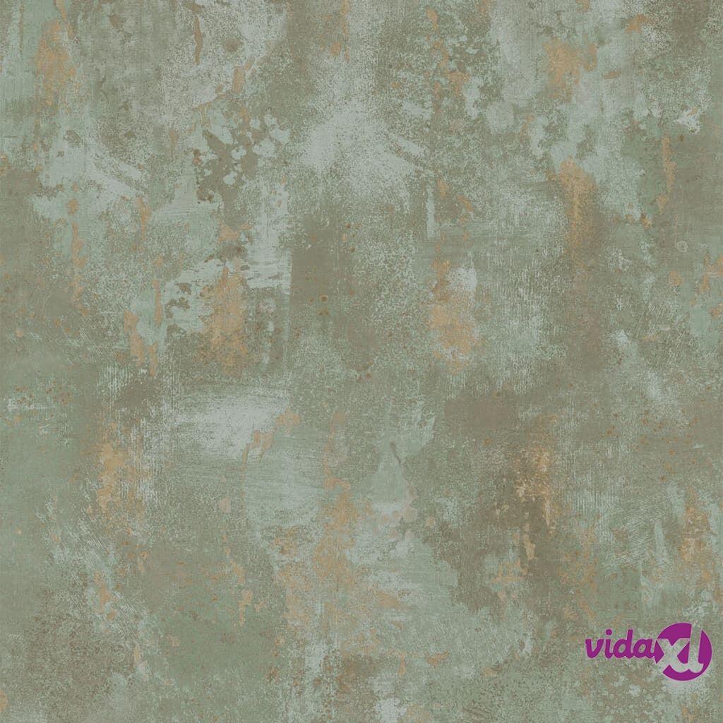 DUTCH WALLCOVERINGS Tapetti betoni vihreä TP1010