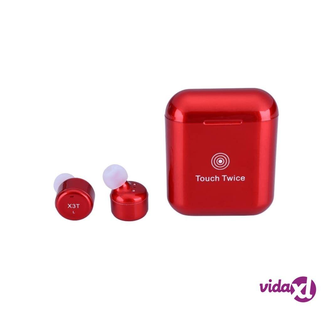 Image of eStore X3T Bluetooth Kuulokkeet Kosketustoiminnolla - Punainen