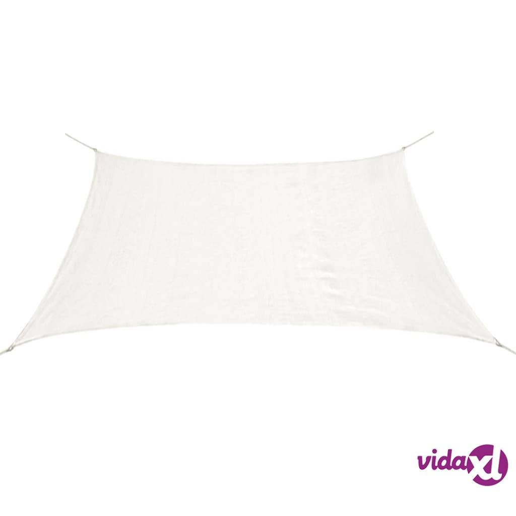 Image of vidaXL Aurinkovarjopurje HDPE suorakaide 2x4 m valkoinen