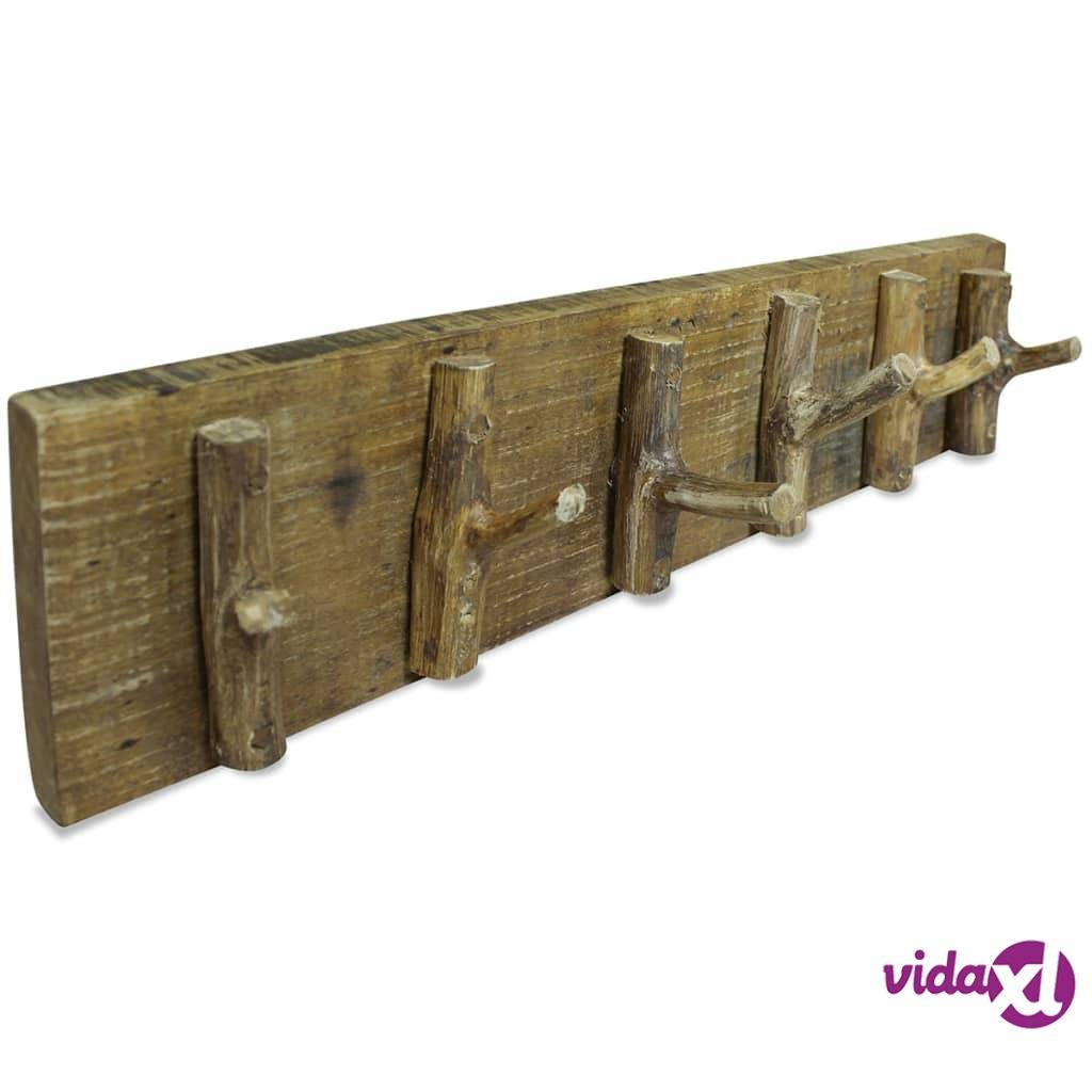 Image of vidaXL Vaatenaulakko kierrätetty puu 60x15 cm