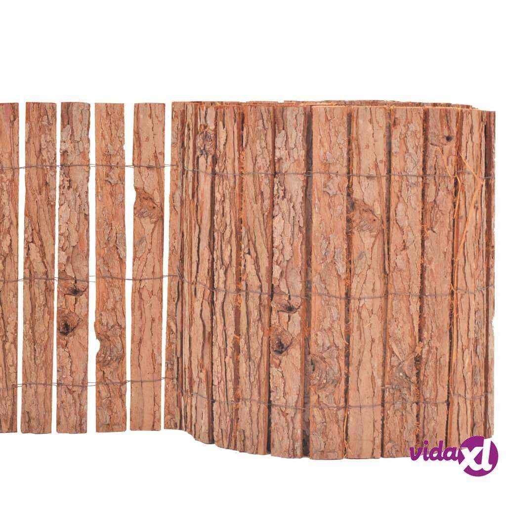 vidaXL Puutarha-aita kaarna 1000x30 cm