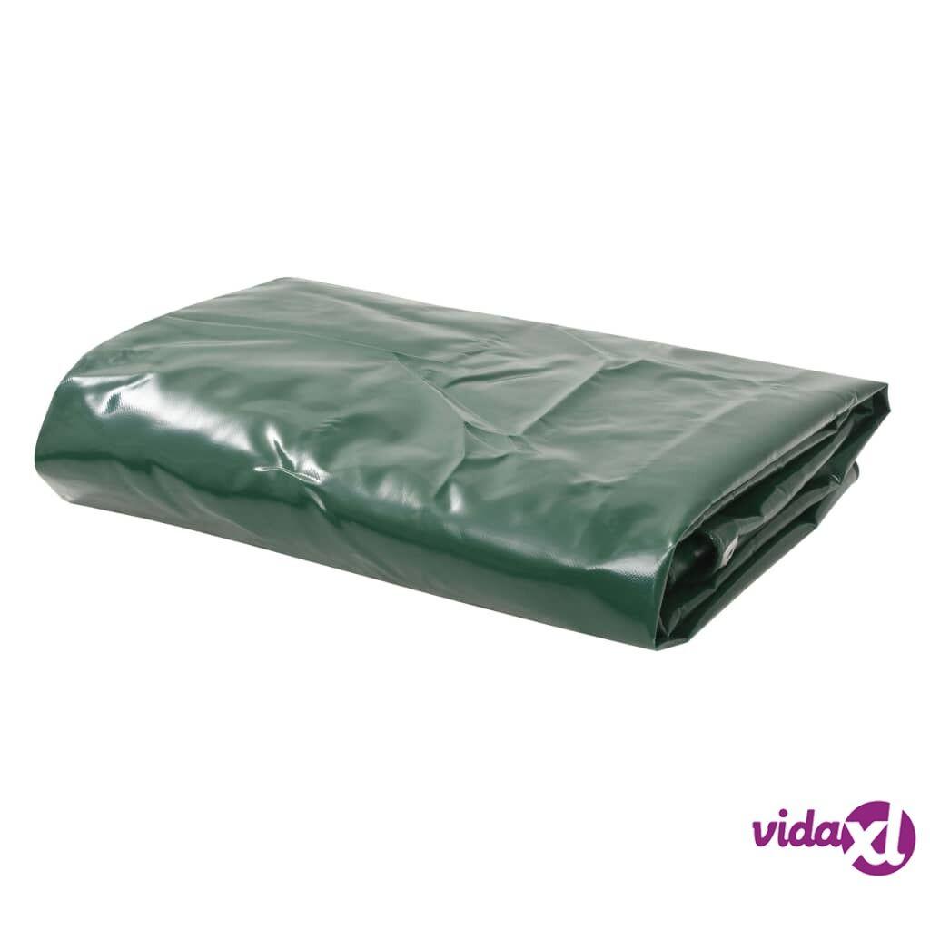 Image of vidaXL Pressu 650 g/m² 4x4 m vihreä