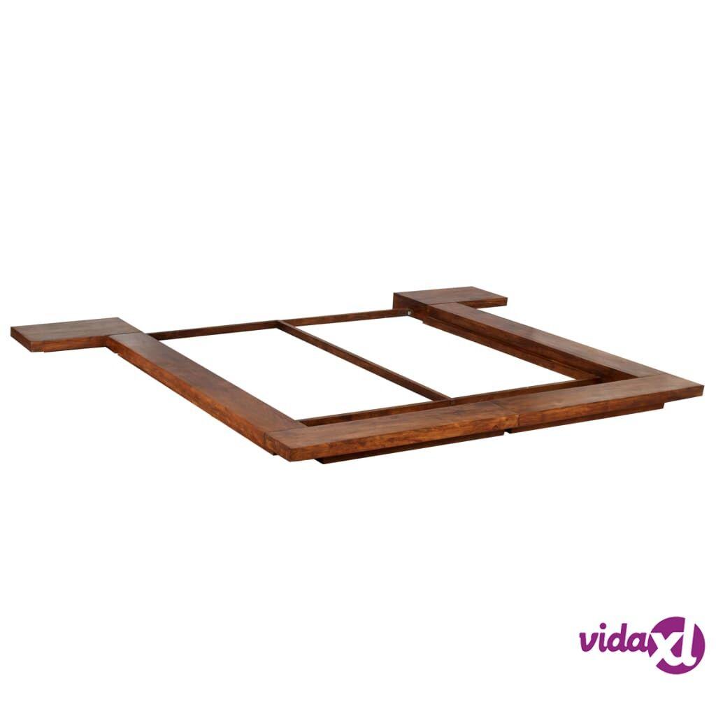 Image of vidaXL Japanilaistyylinen futon sängynrunko kiinteä puu 1,8x2 m