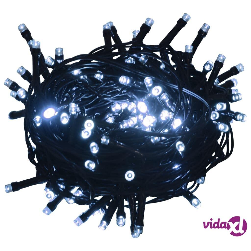 vidaXL Valonauha 600 LEDiä sisä- ja ulkokäyttöön 60 m kylmä valkoinen