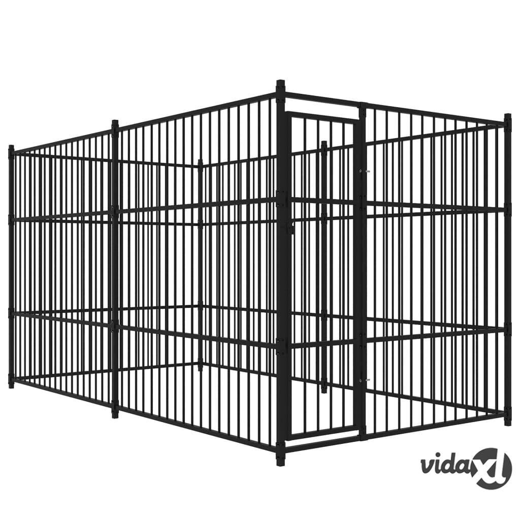 Image of vidaXL Koiran ulkohäkki 400x200 cm