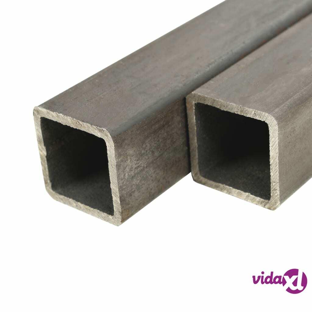 Image of vidaXL Teräsprofiiliputket 6 kpl neliö 1 m 25x25x2mm