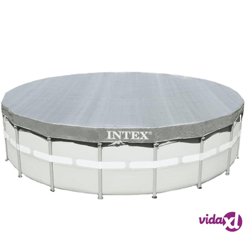Intex Uima-altaan suoja Deluxe pyöreä 488 cm 28040