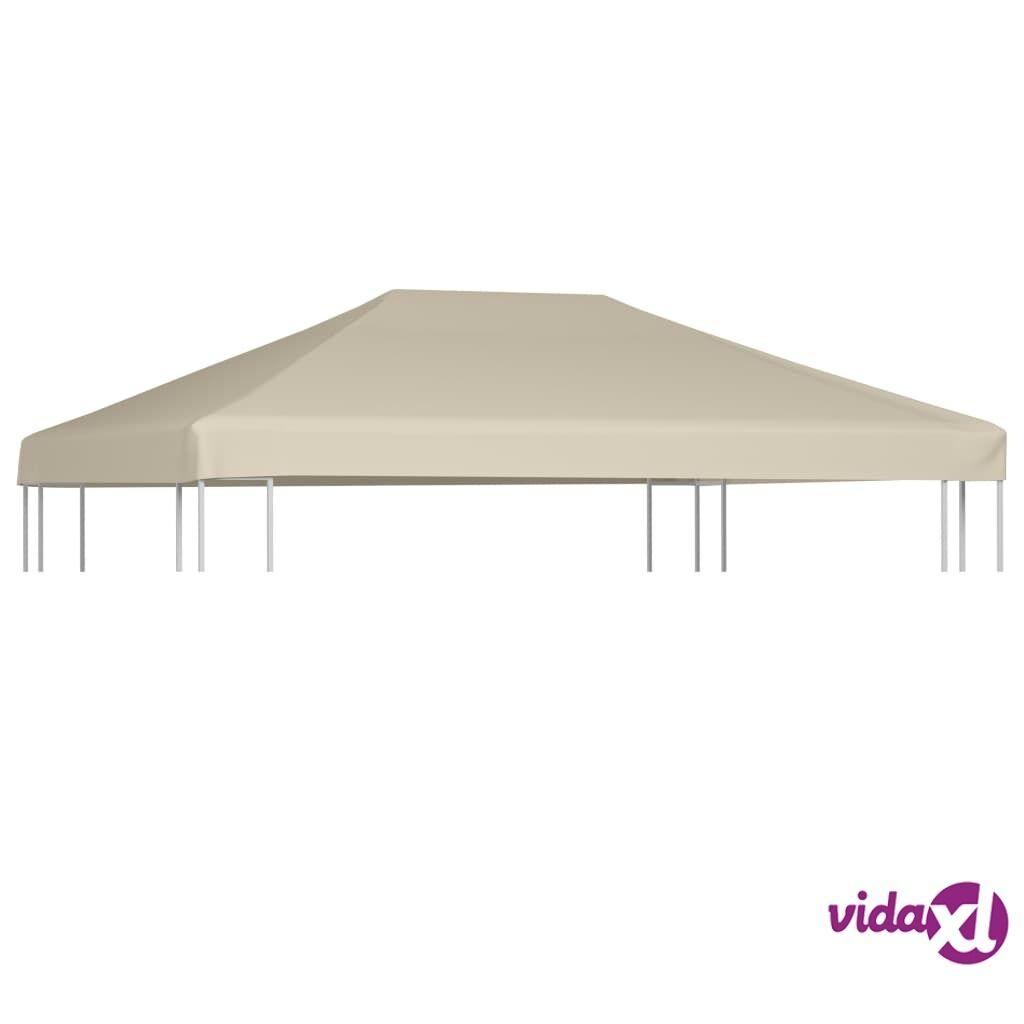Image of vidaXL Huvimajan katto 310 g/m² 4x3 m ruskea