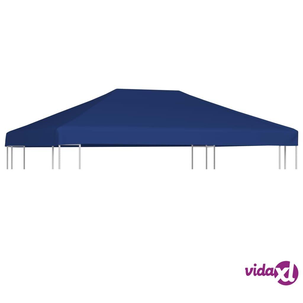 Image of vidaXL Huvimajan katto 310 g / m² 4x3 m sininen