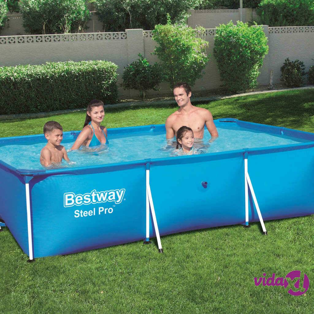 Bestway Steel Pro Uima-allas teräsrungolla 300x201x66 cm 56404