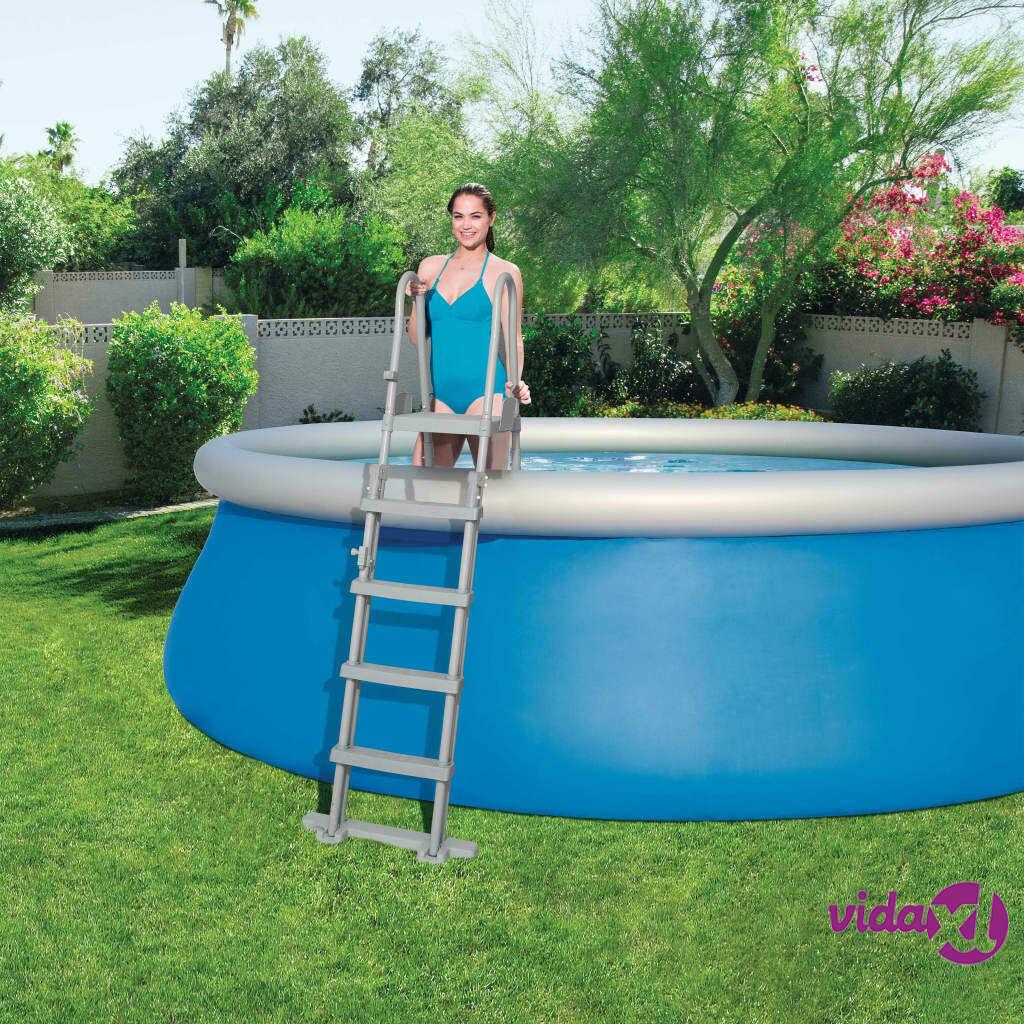 Bestway 4-askeleen uima-altaan turvatikkaat Flowclear 132 cm 58332