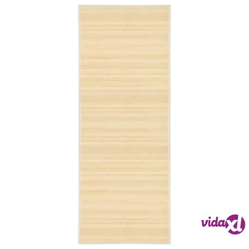 Image of vidaXL Matto bambu 80x200 cm luonnollinen