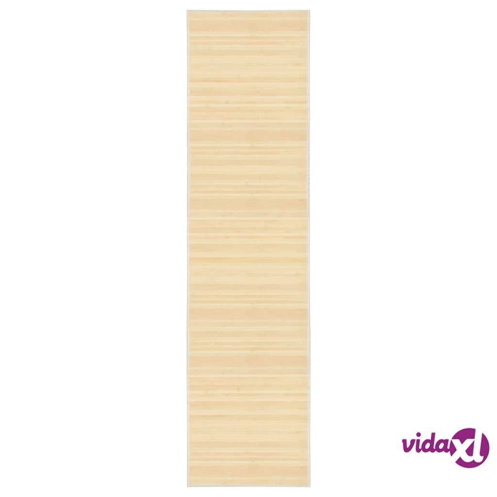 Image of vidaXL Matto bambu 80 x 300 cm luonnollinen