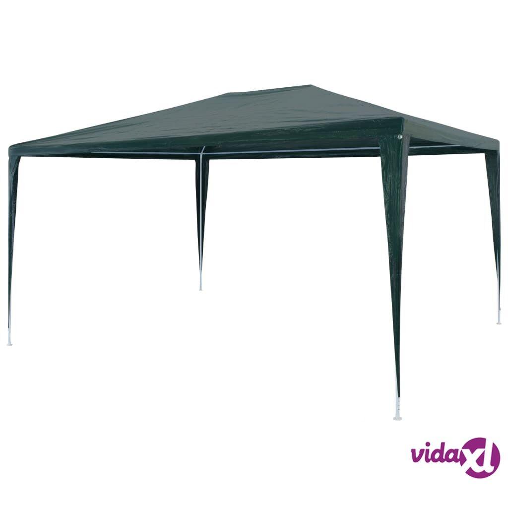 Image of vidaXL Juhlateltta 3x4 m PE vihreä