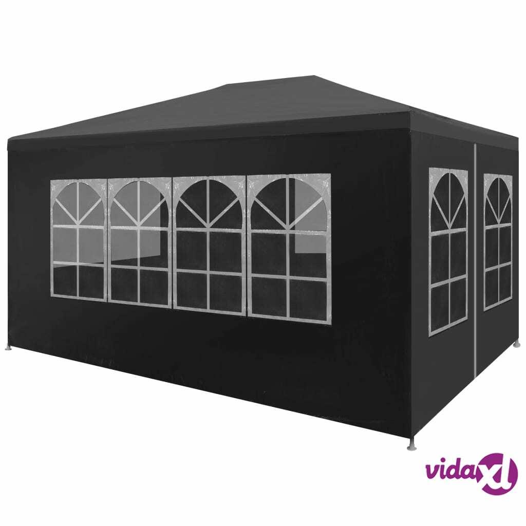 Image of vidaXL Juhlateltta 3x4 m antrasiitti