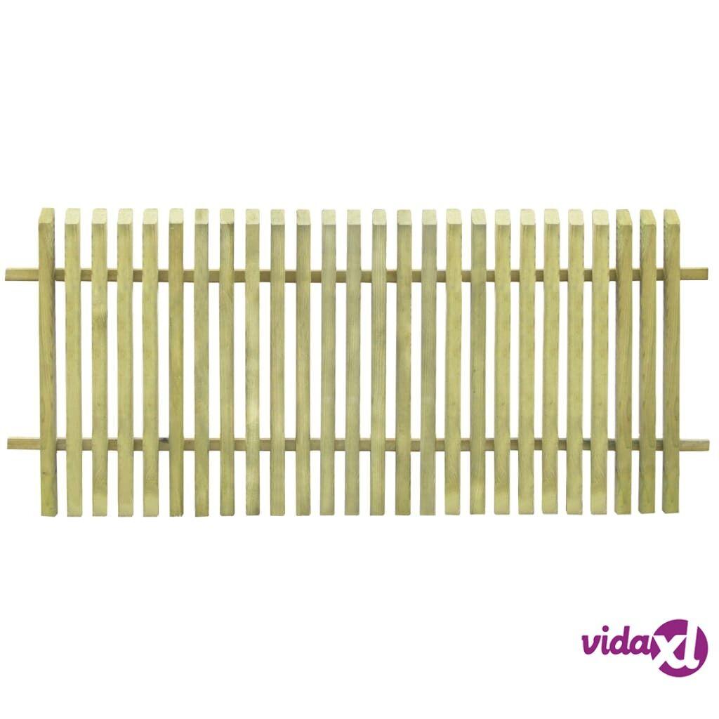 vidaXL Puutarha-aita FSC-sertifioitu kyllästetty mänty 170x75 cm