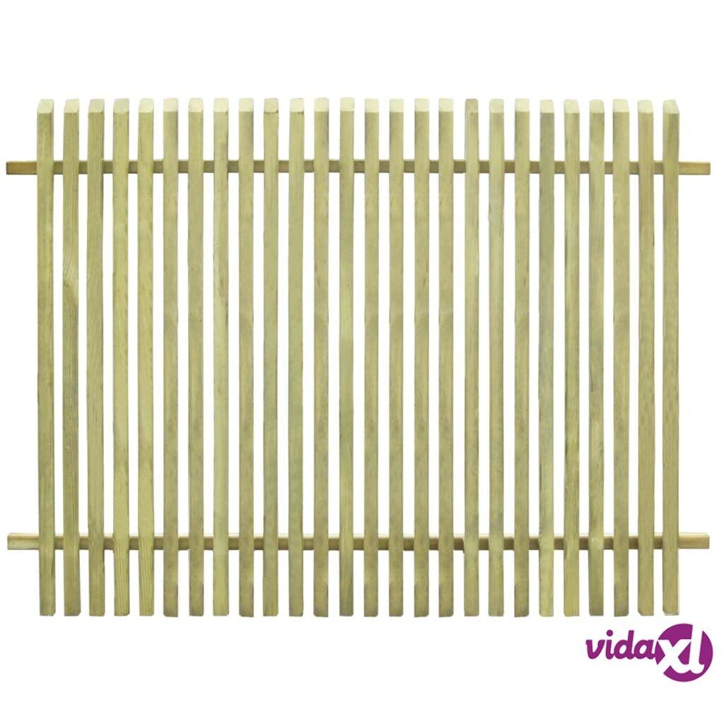 vidaXL Puutarha-aita FSC-sertifioitu kyllästetty mänty 170x125 cm