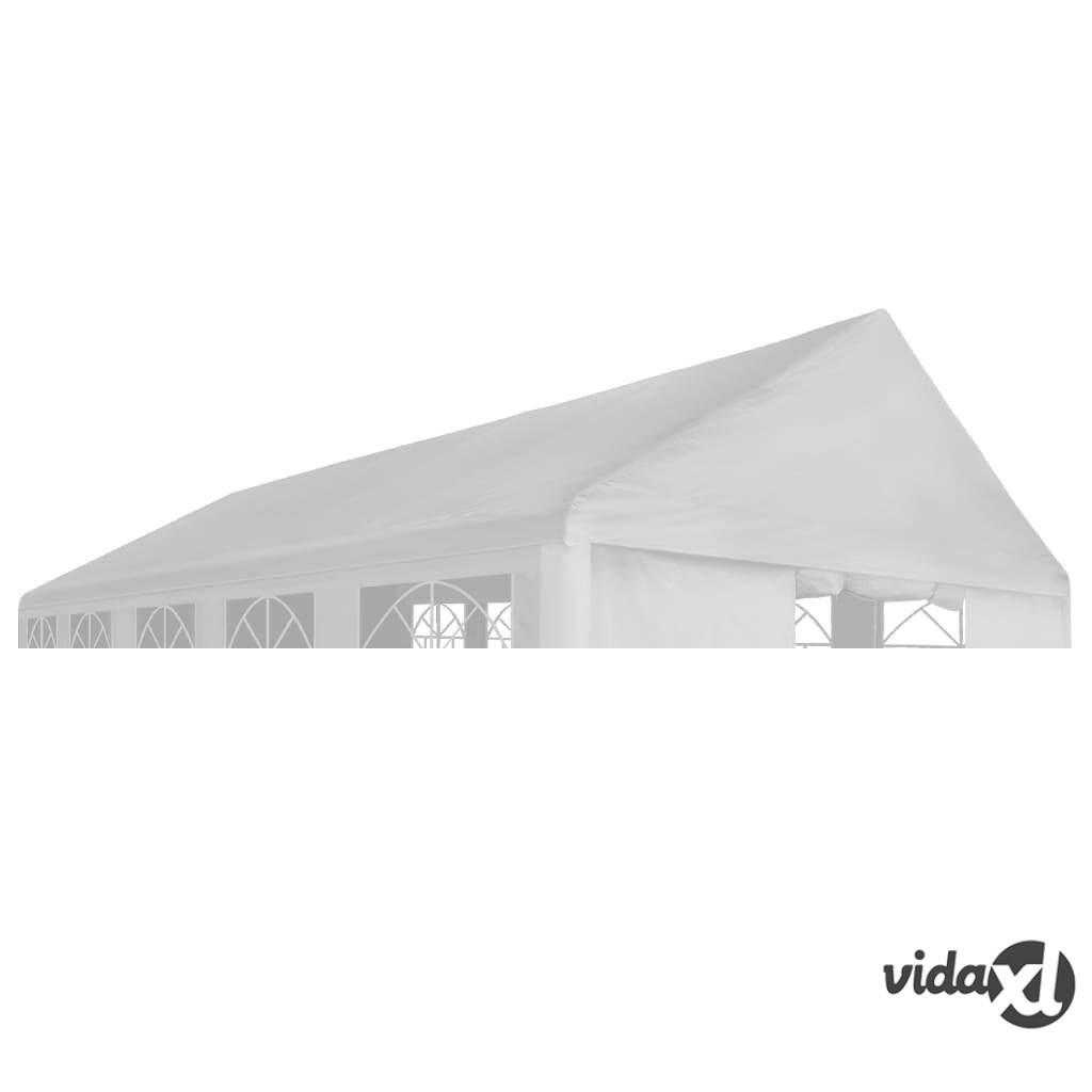Image of vidaXL Juhlateltan katto 4 x 6 m valkoinen