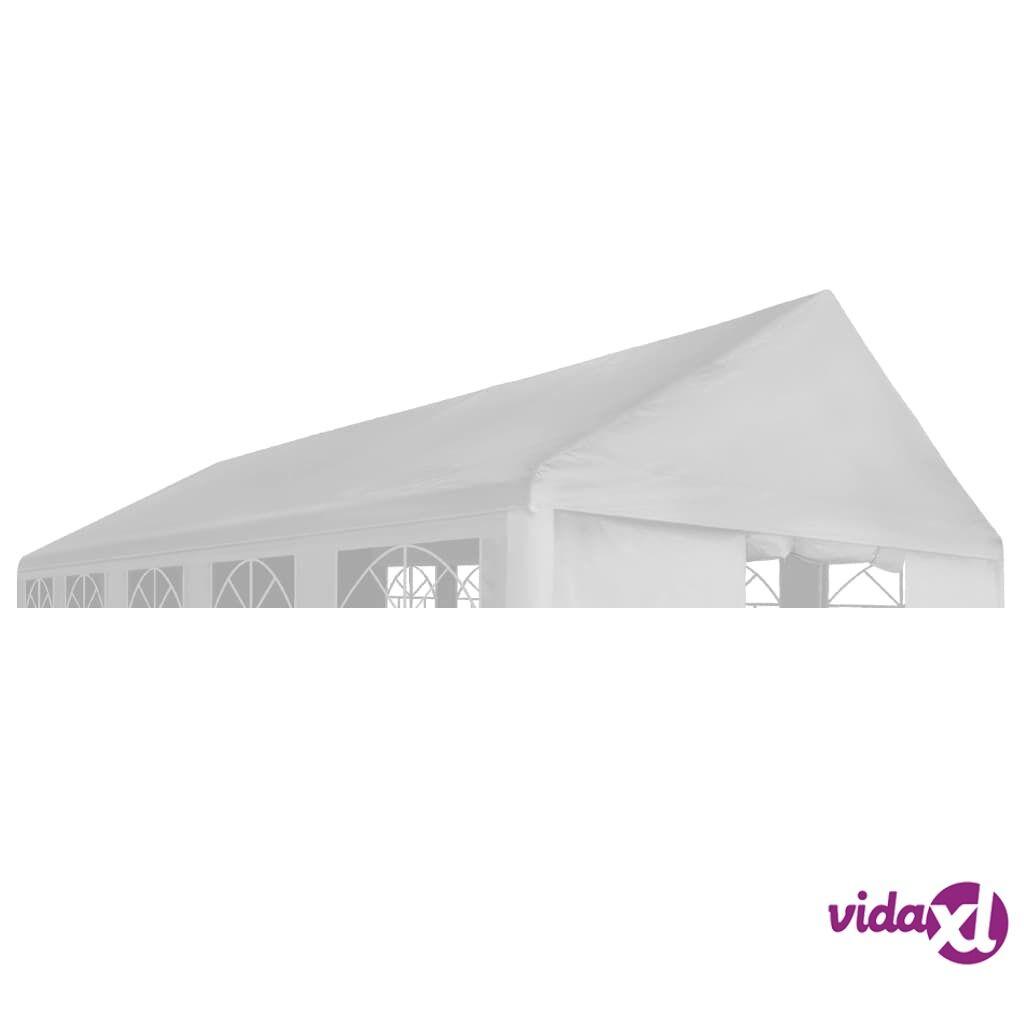 Image of vidaXL Juhlateltan katto 4 x 8 m valkoinen