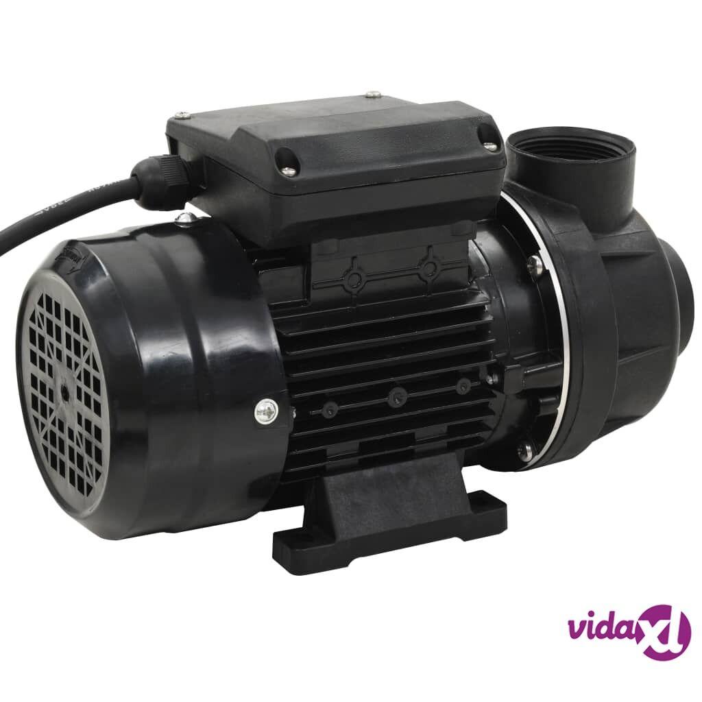 vidaXL 91723  Uima-altaan pumppu musta 0,25 hp 7500 l/h