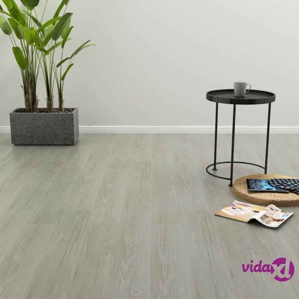 Image of vidaXL Itsekiinnittyvä lattialankku 4,46 m² PVC harmaa