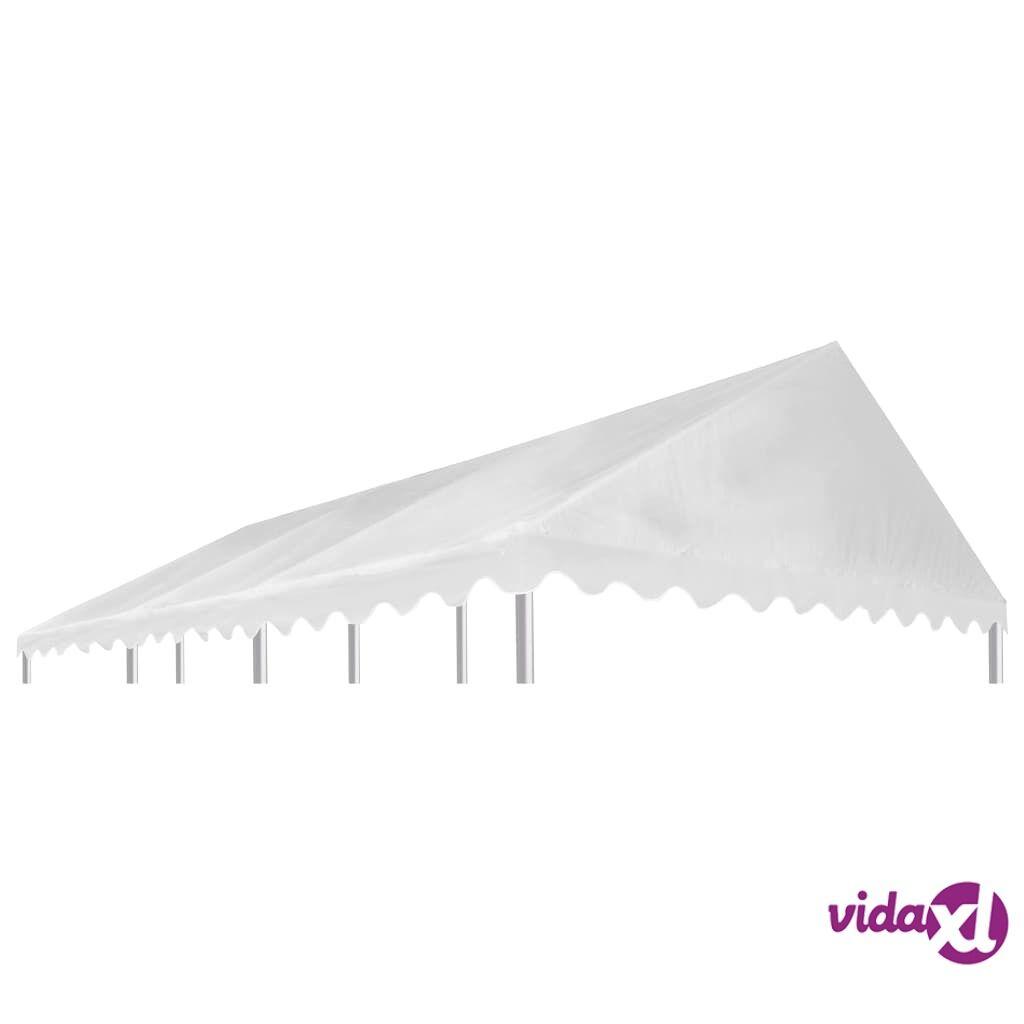 Image of vidaXL Huvimajan katto PVC 500 g/m² 6x4 m valkoinen