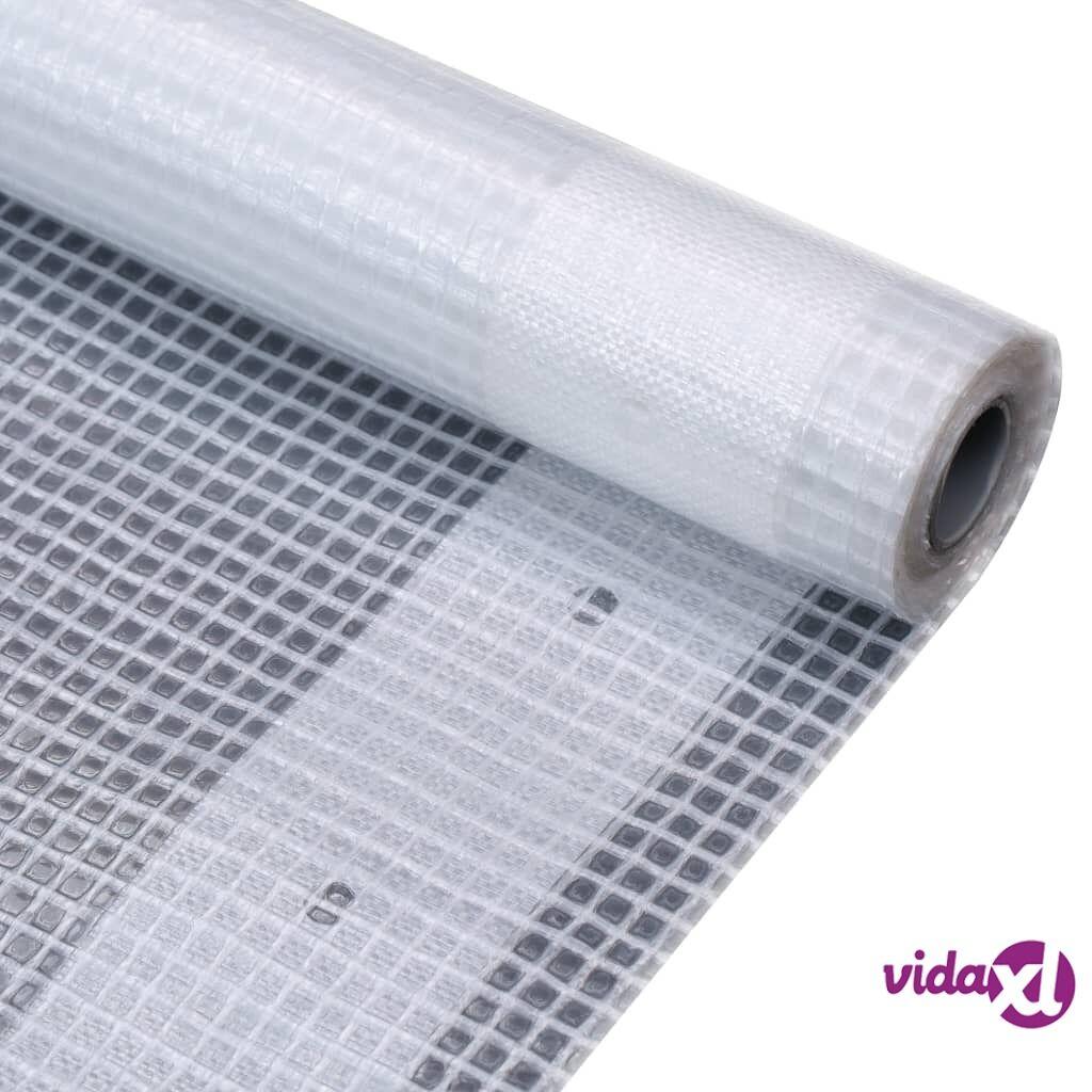 Image of vidaXL Leno suojapeite 260 g/m² 2x10 m valkoinen