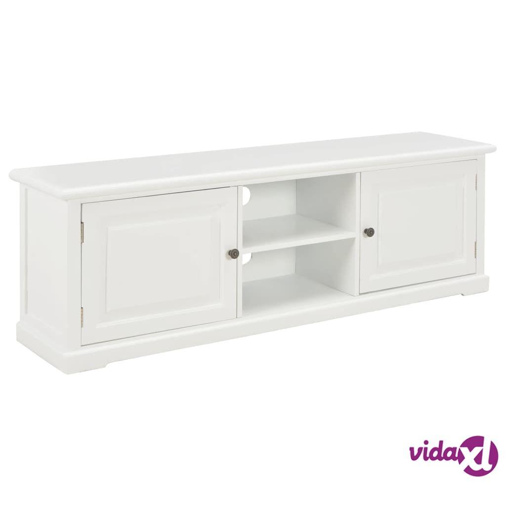 Image of vidaXL TV-taso valkoinen 120x30x40 cm puu