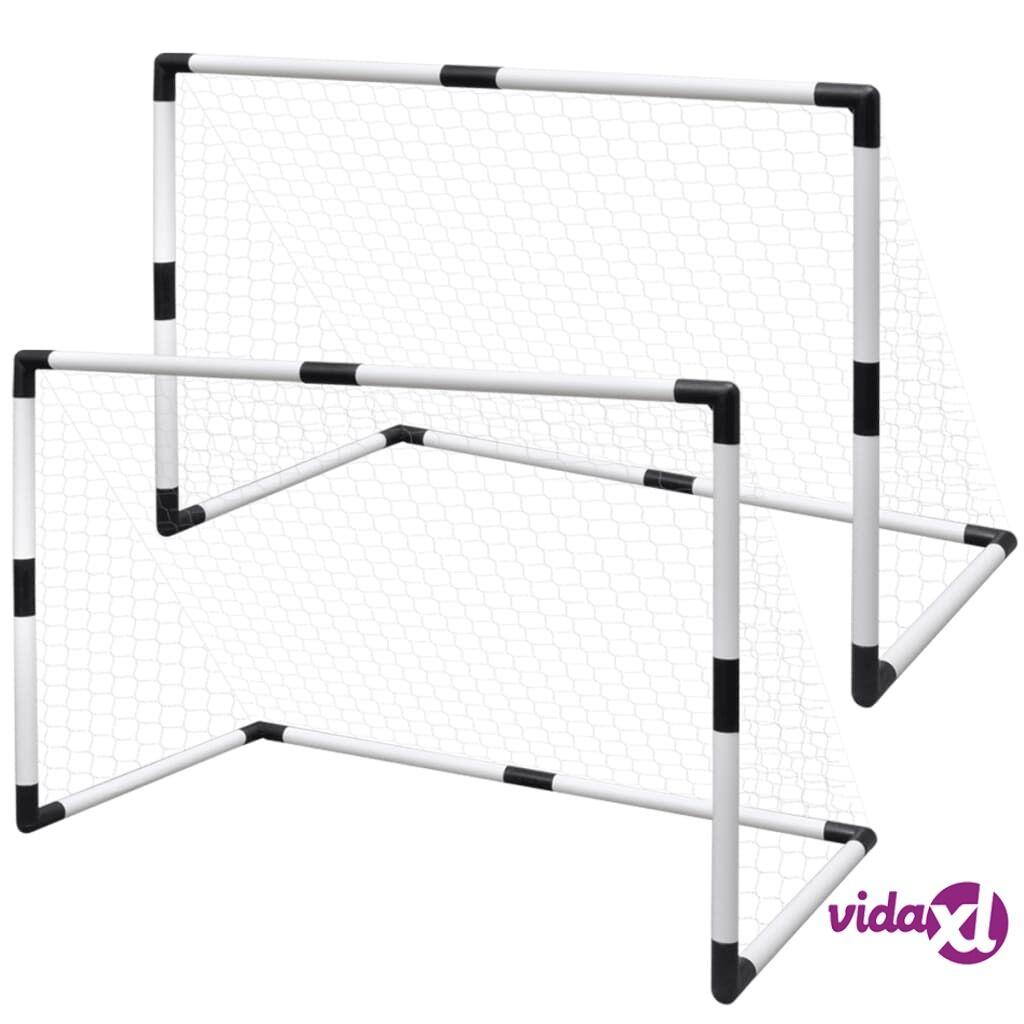 vidaXL Mini Jalkapallo Maalisarja Lapsille 2 osaa 91,5 x 48 x 61 cm