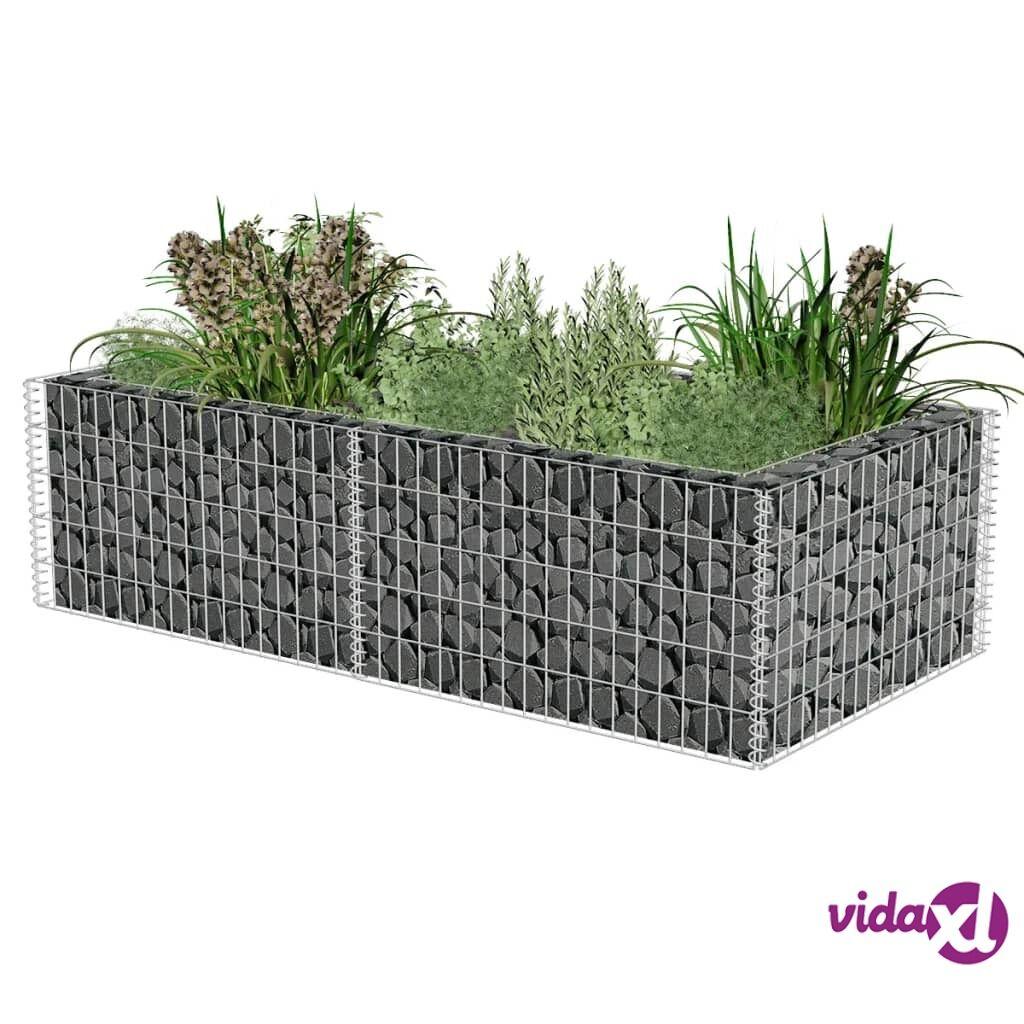 Image of vidaXL Gabion/kivikori 180 x 90 x 50 cm