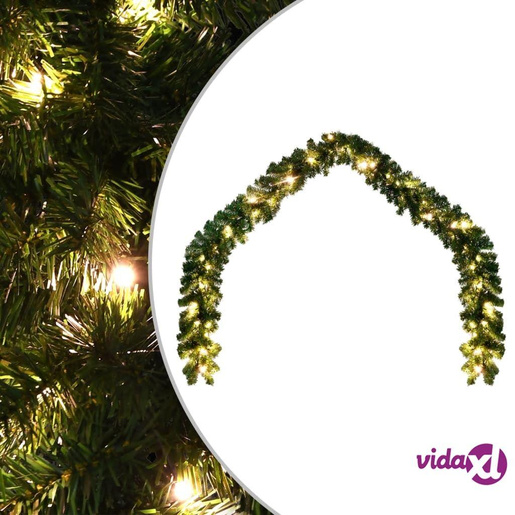 vidaXL Jouluköynnös LED-valoilla 20 m