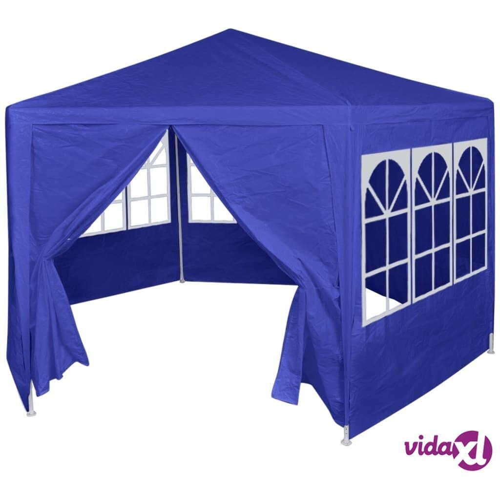 Image of vidaXL Juhlateltta 6 sivuseinällä 2x2 m sininen
