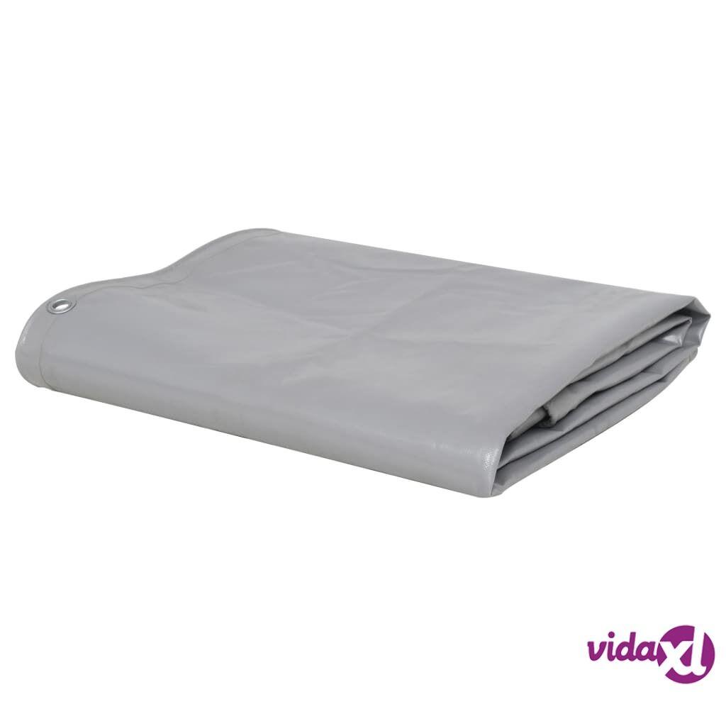 Image of vidaXL Pressu 650 g/m² 2,5x3,5 m harmaa