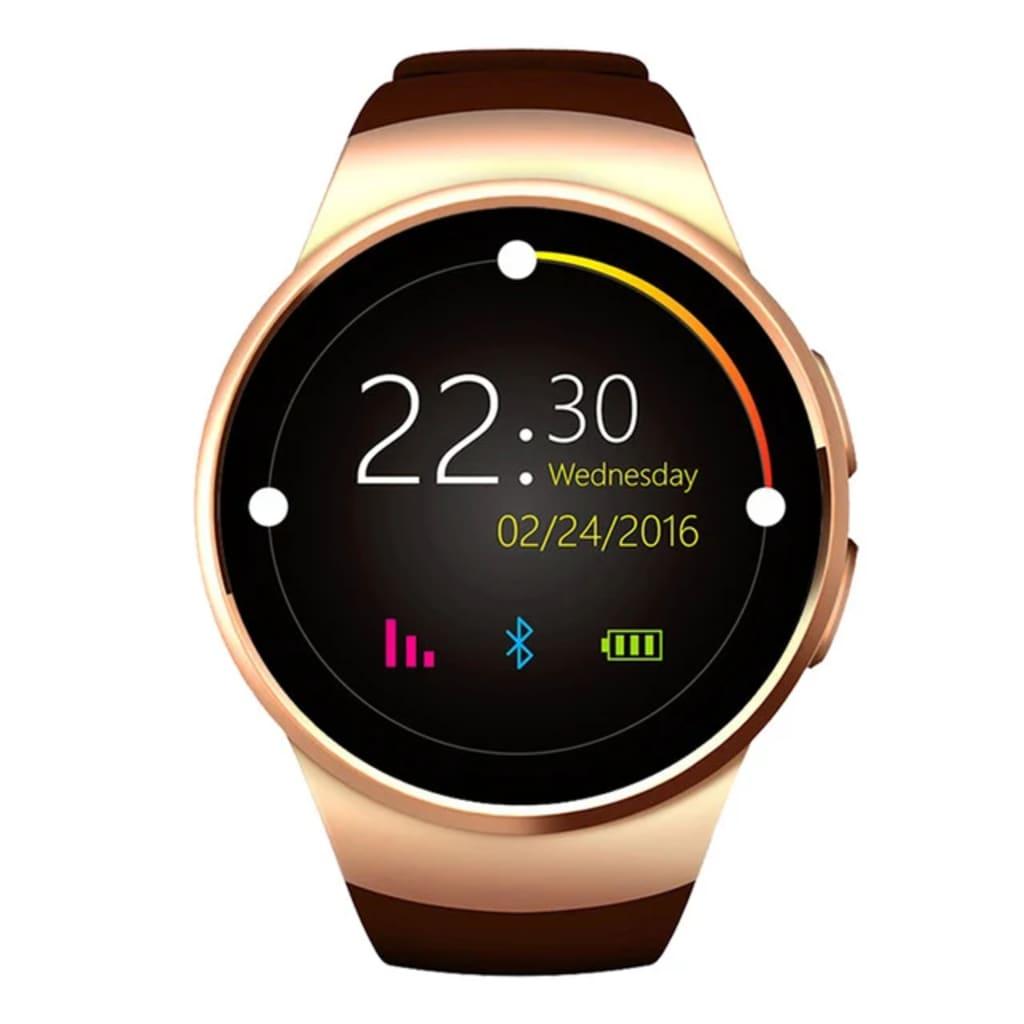 eStore KW18 Smartwatch - Rose Gold