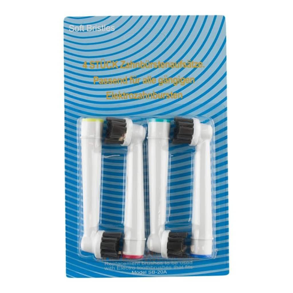 eStore Oral-B-yhteensopivat Hammasharjanpäät - 4x Flexisoft