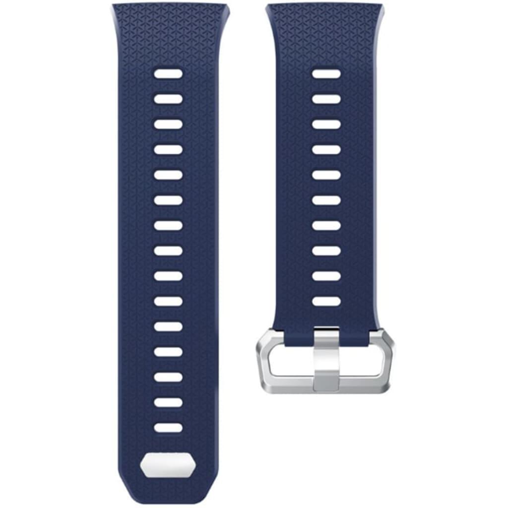 eStore Silikonband kompatibelt med Fitbit Ionic - Blå - S
