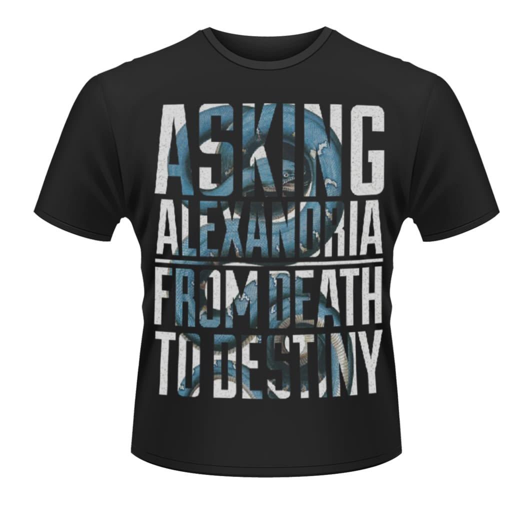 ASKING ALEXANDRIA - Snakes T-Paita