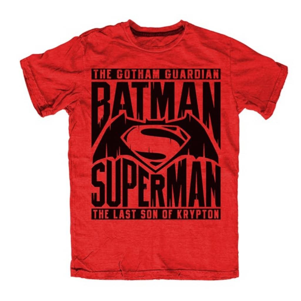 BATMAN V SUPERMAN THE GOTHAM GUARDIAN T-Paita