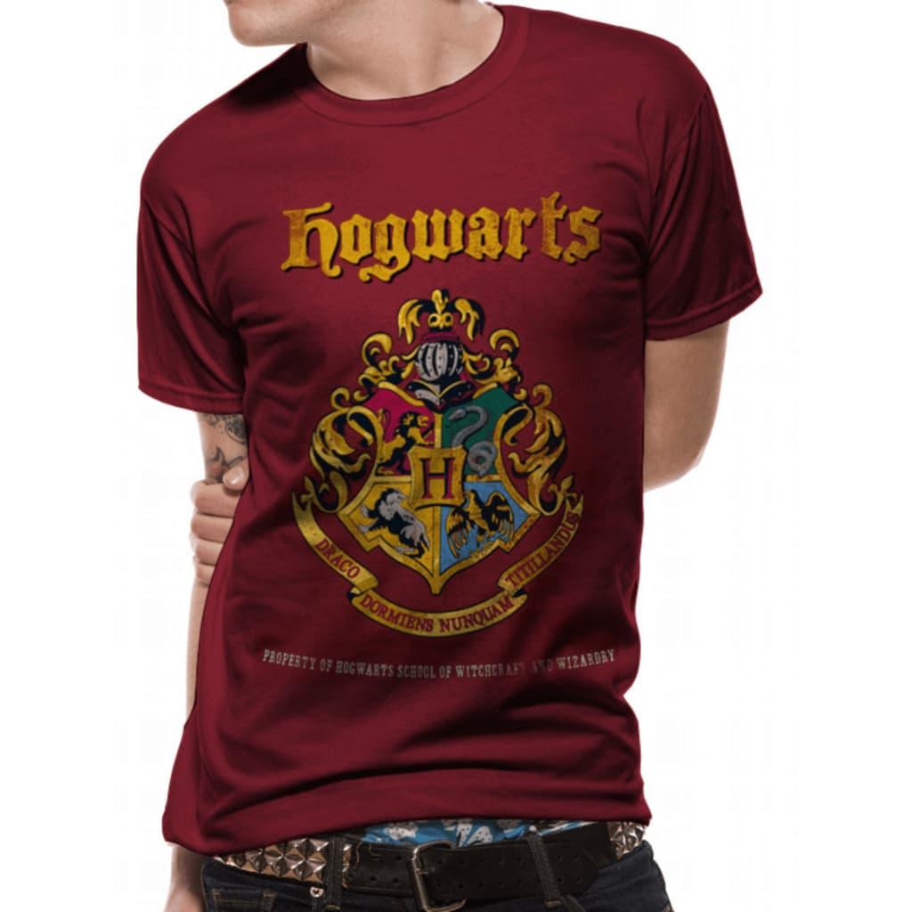 Harry Potter - Hogwarts Property Crest  T-Paita