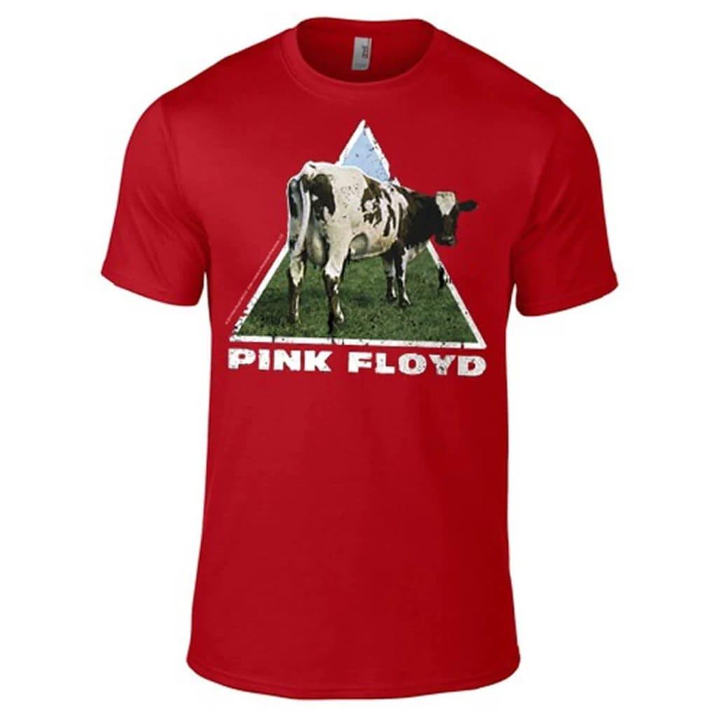 Pink Floyd - Atom Heart  Punainen T-Paita