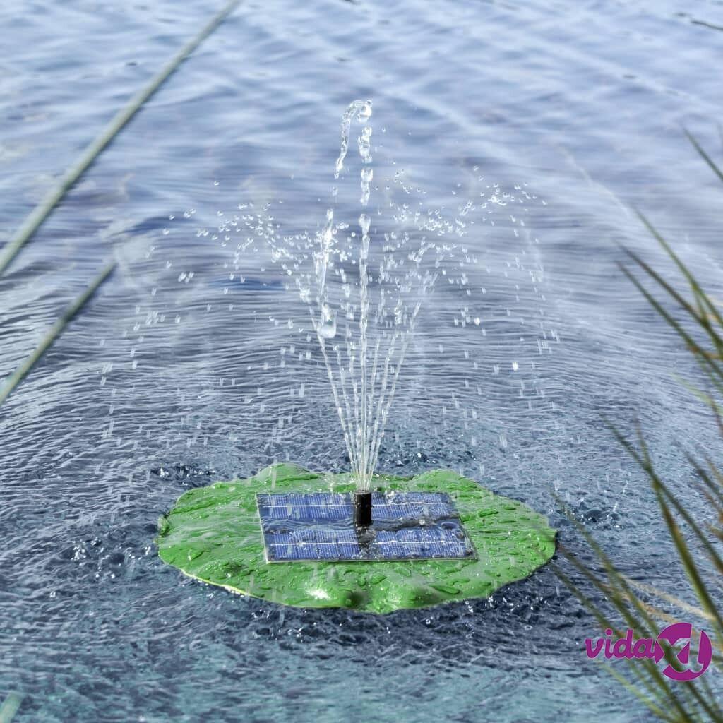 HI Kelluva suihkulähteen pumppu aurinkovoima lootuslehti