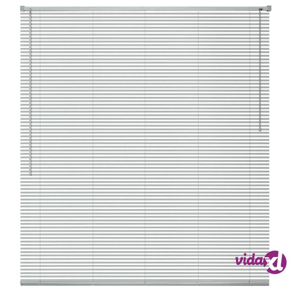 Image of vidaXL Sälekaihtimet Alumiini 80x130 cm Hopea