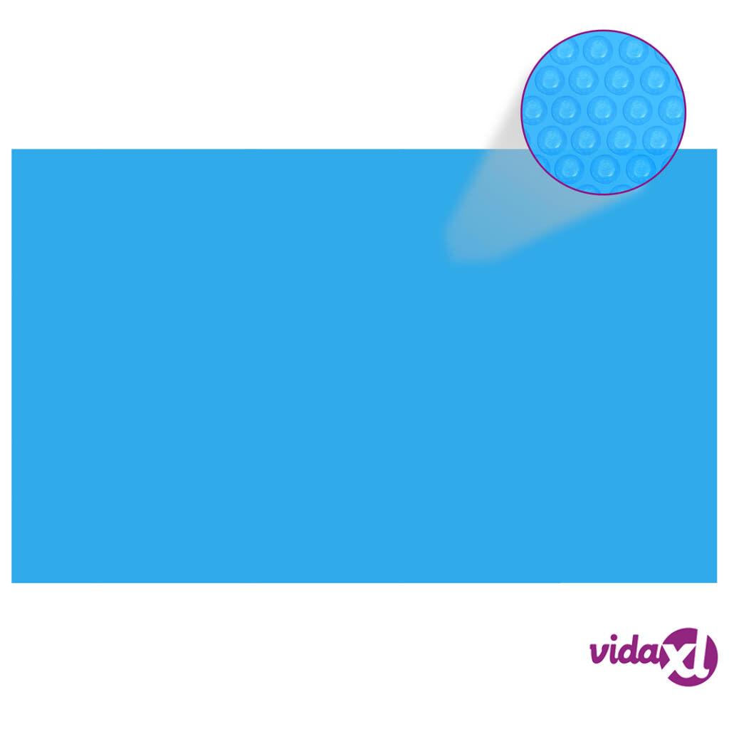 vidaXL Suorakaiteen Muotoinen Uima-altaan Suoja 260 x 160 cm PE Sininen