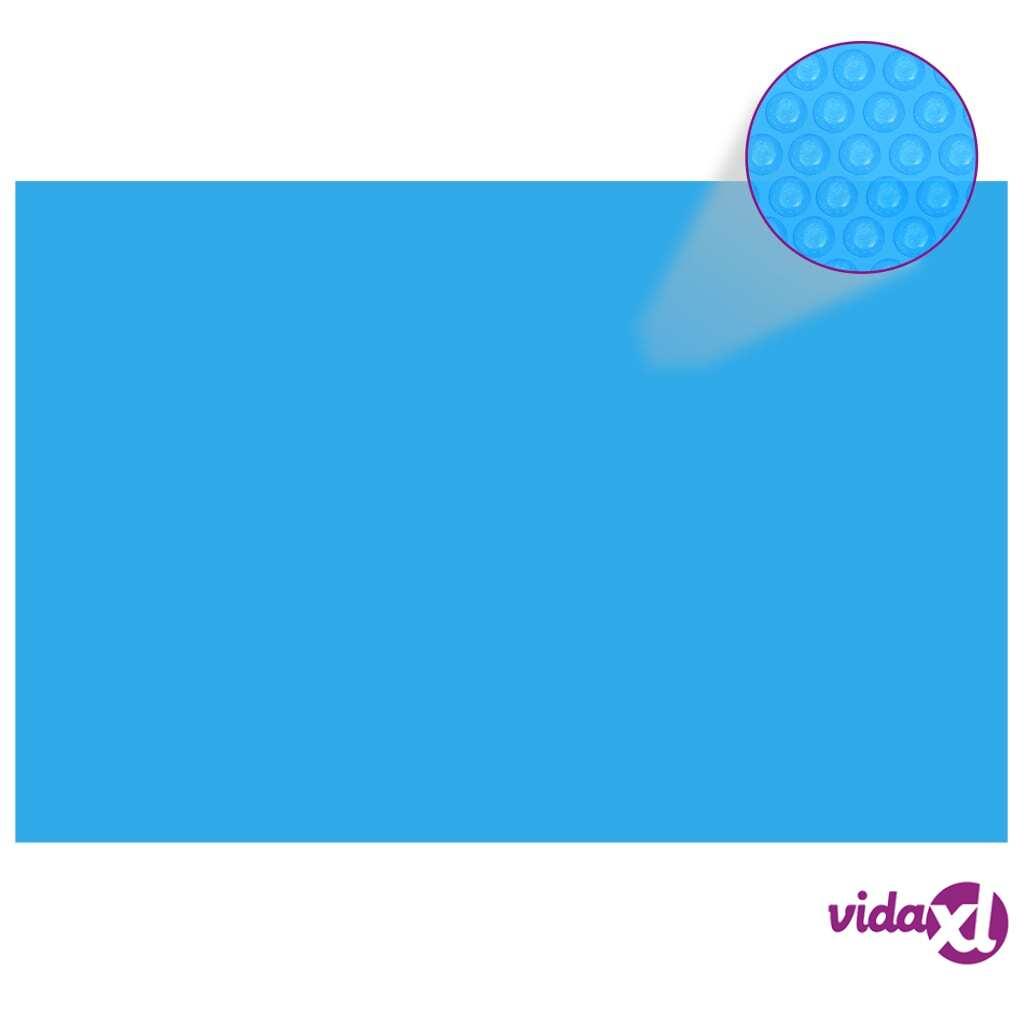 vidaXL Suorakaiteen Muotoinen Uima-altaan Suoja 300 x 200 cm PE Sininen