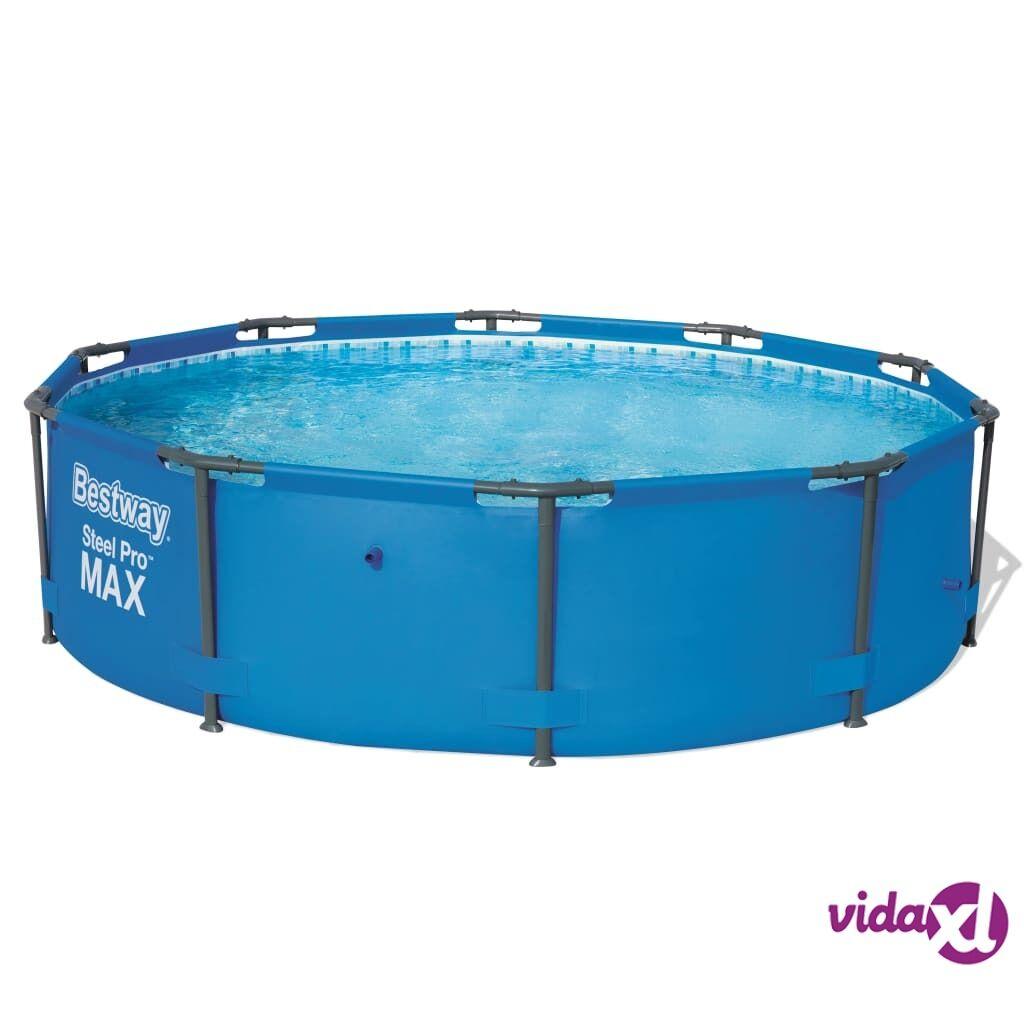Bestway Steel Pro pyöreä uima-allas 305 x 76 cm teräsrunko 56406