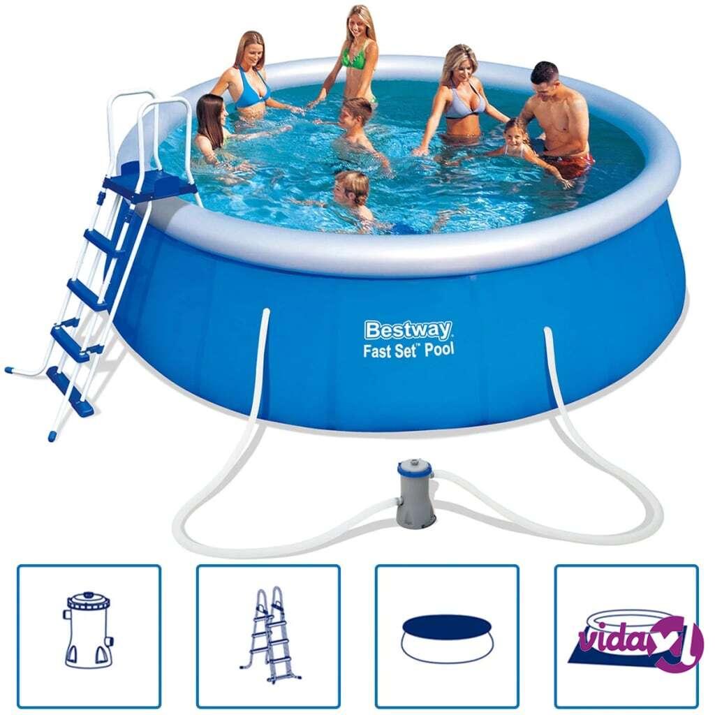 Bestway Fast Set pyöreä täytettävä uima-allas 457x122 cm 57289